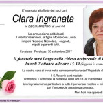 clara ingranata 150x150 Avvisi Parrocchie 10 17 settembre