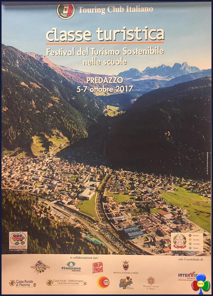 classe turistica 2017 manifesto predazzo Premiati a Predazzo i vincitori del Festival del Turismo Scolastico 2017
