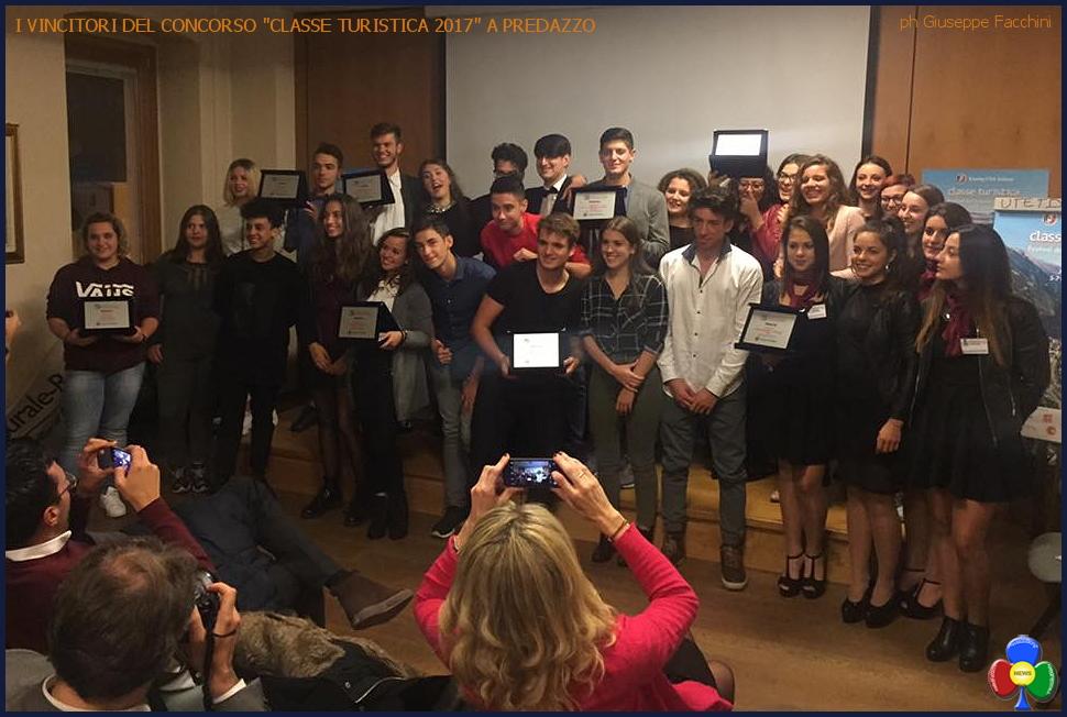 classe turistica 2017 vincitori a predazzo Premiati a Predazzo i vincitori del Festival del Turismo Scolastico 2017