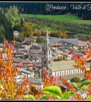 predazzo autunno valle di fiemme