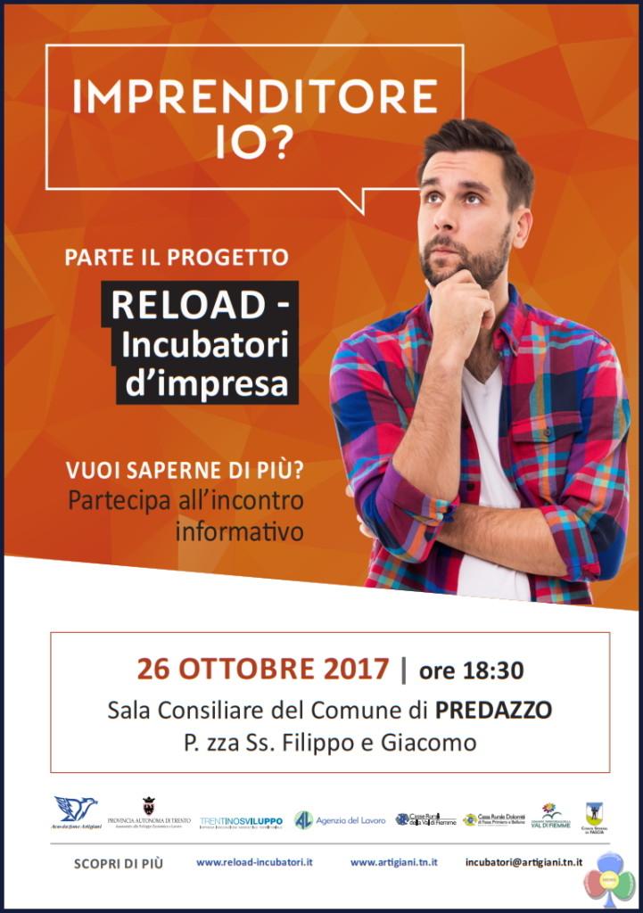 reload incubatori impresa 721x1024 Reload   Incubatori d'impresa, incontro a Predazzo
