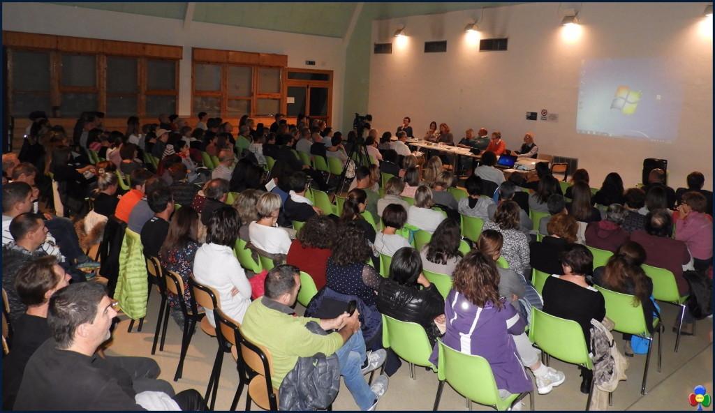 tempo scuola serata a tesero1 1024x592 Grande partecipazione alla serata sul Tempo Scuola