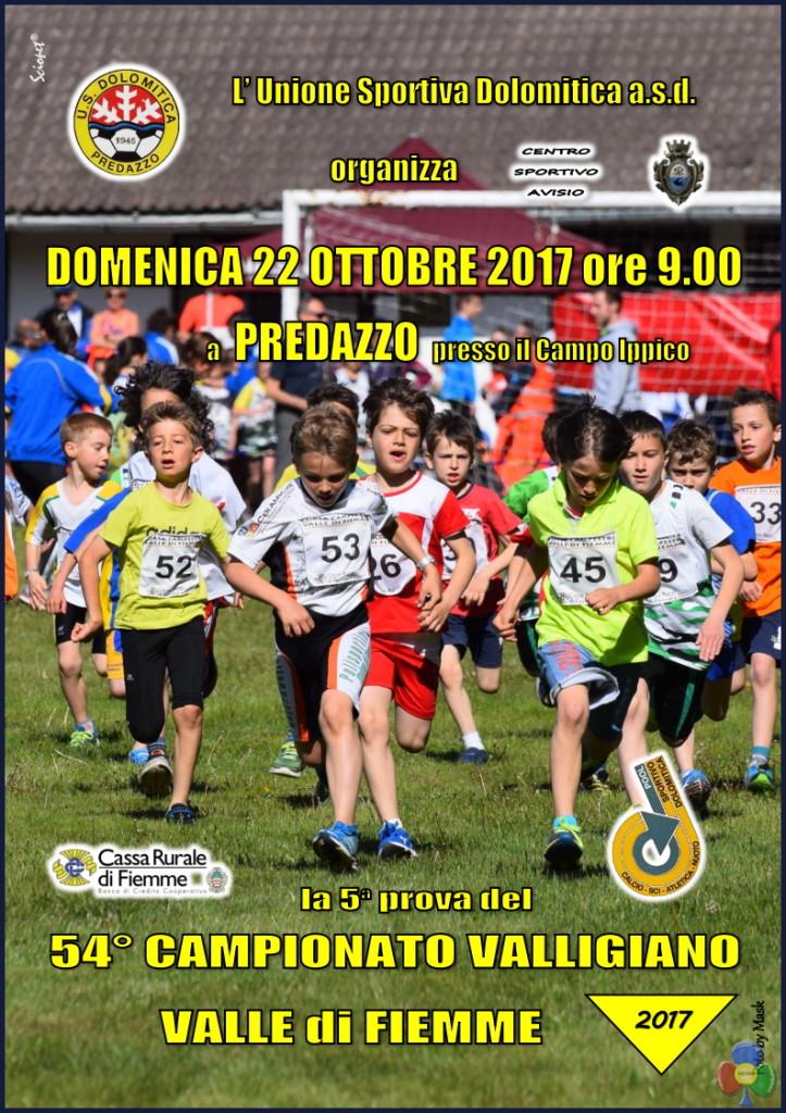 valligiano 2017 predazzo 723x1024 Disputata a Predazzo la 5° prova del Valligiano di Corsa Campestre