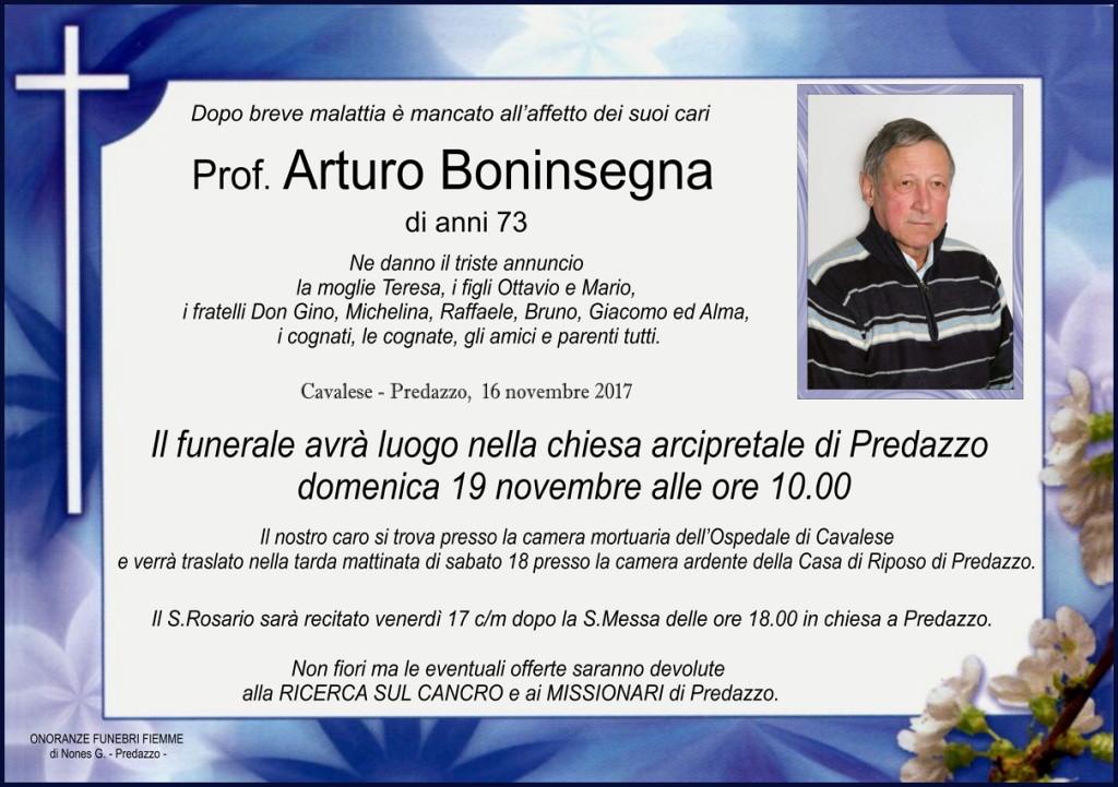 Boninsegna Arturo 1024x721 Necrologio,  Arturo Boninsegna