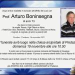 Boninsegna Arturo 150x150 Necrologio, Luigi Boninsegna Volpin