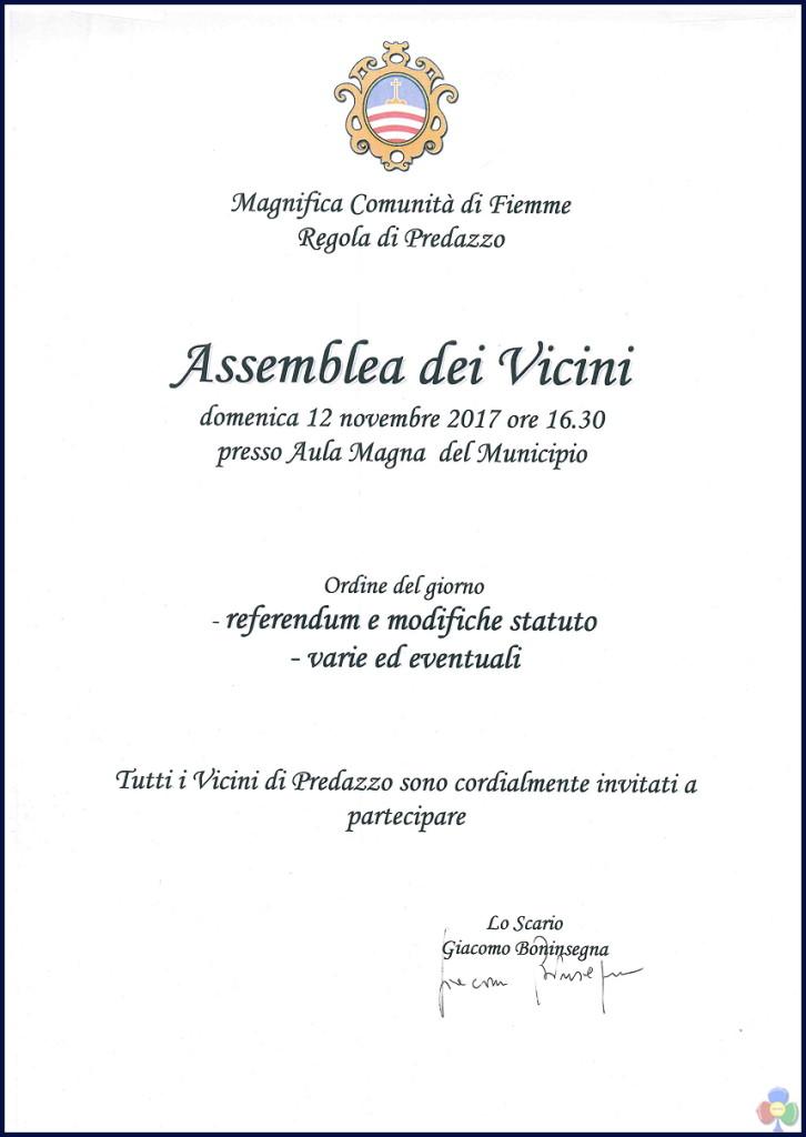 assemblea vicini magnifica comunita predazzo 2017 726x1024 Magnifica Comunità, Assemblea di Regola dei Vicini di Predazzo