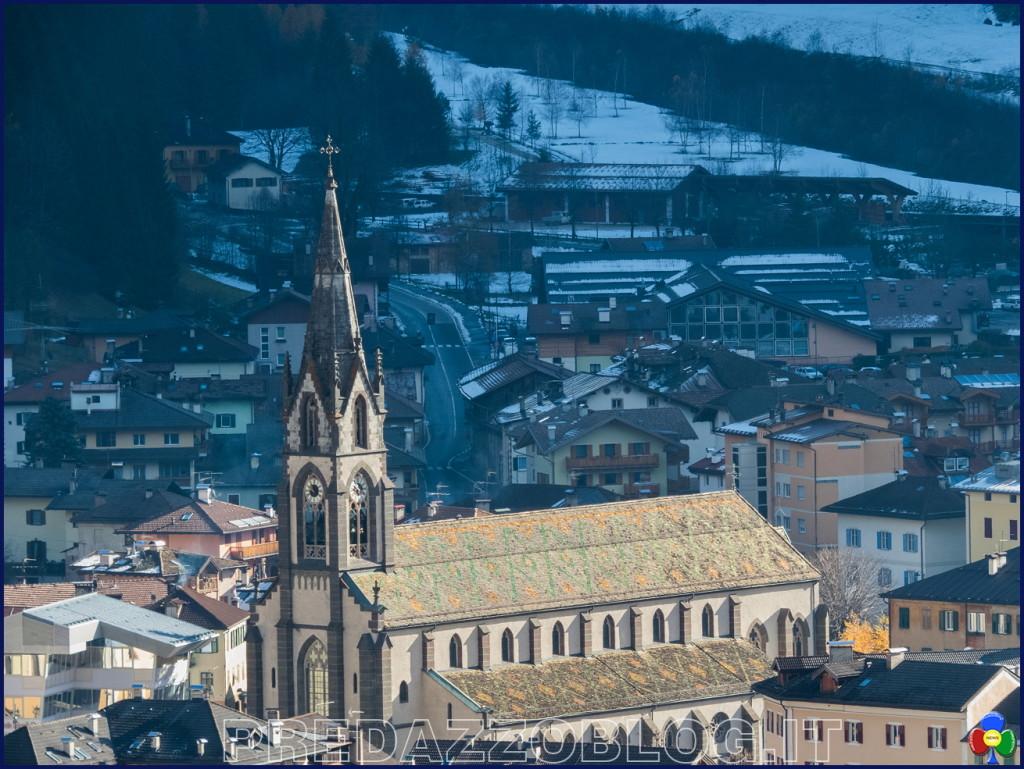 chiesa predazzo autunno neve 1024x769 Avvisi Parrocchie 9   16 febbraio 2020