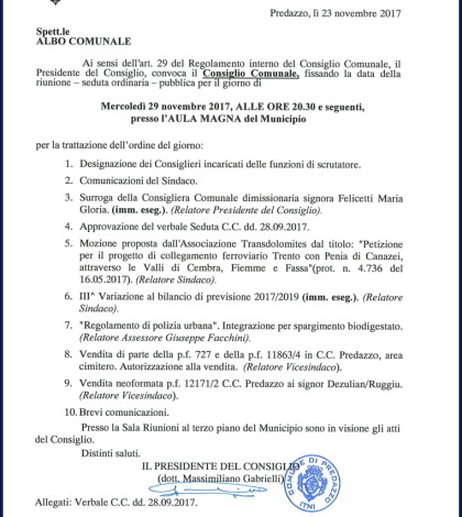 consiglio comunale nov 17