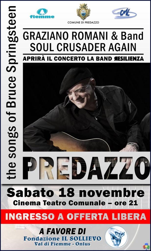 graziano romani bruce 616x1024 Graziano Romani suona Bruce Springsteen a Predazzo