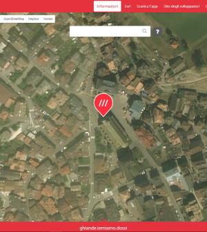 mappa predazzo what3words