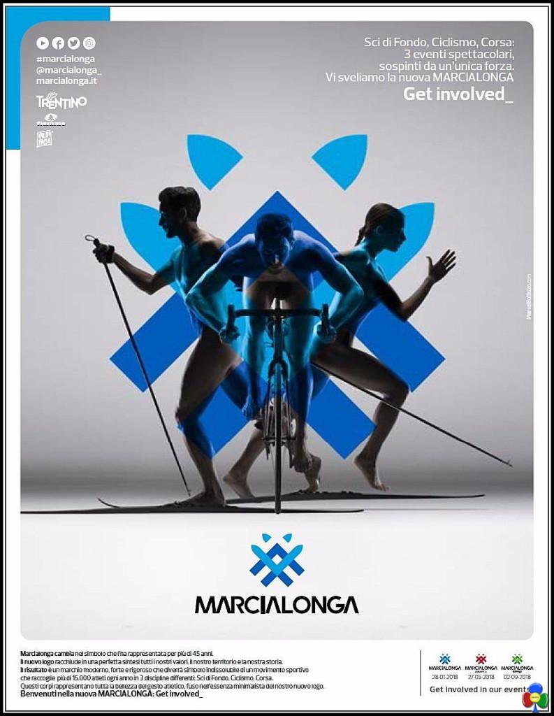 nuovo logo marcialonga fiemme fassa 793x1024 Marcialonga cambia look, ecco il nuovo logo