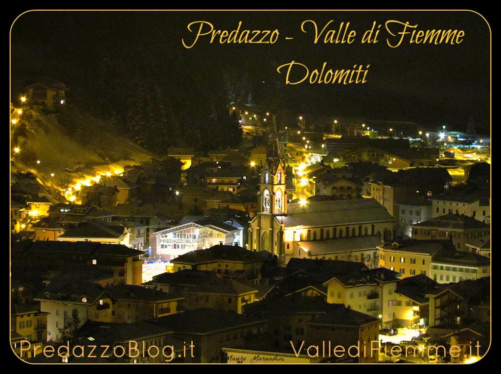 predazzo neve notte chiesa 1024x764 Avvisi Parrocchie 3 10 dicembre