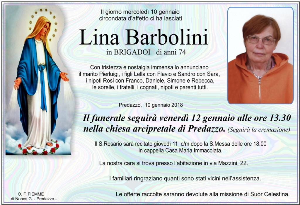 Barbolini Lina corretto 1024x700 Necrologio Predazzo, Lina Barbolini