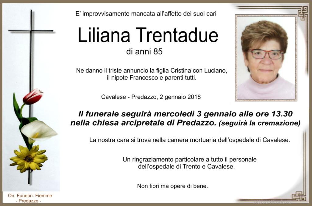 liliana trentadue 1024x676 Necrologi Dario Dellagiacoma e Liliana Trentadue