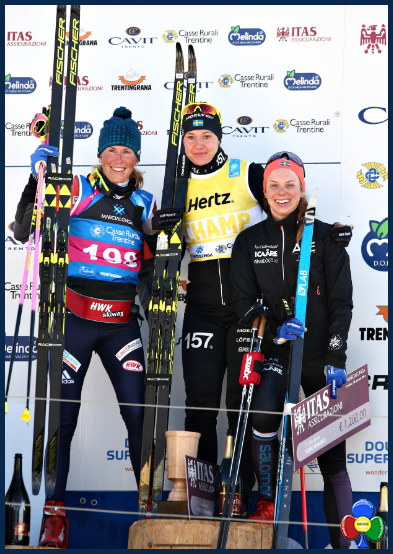 marcialonga 2018 podio femminile Al russo Chernousov la Marcialonga 2018   Classifiche