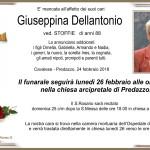 giuseppina dellantonio 150x150 Avvisi Parrocchie 31.3 7.4   Bollettino n°1   2019