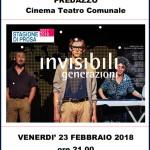 invisibili generazioni 150x150 Giudecca spettacolo teatrale/testimonianza a Predazzo