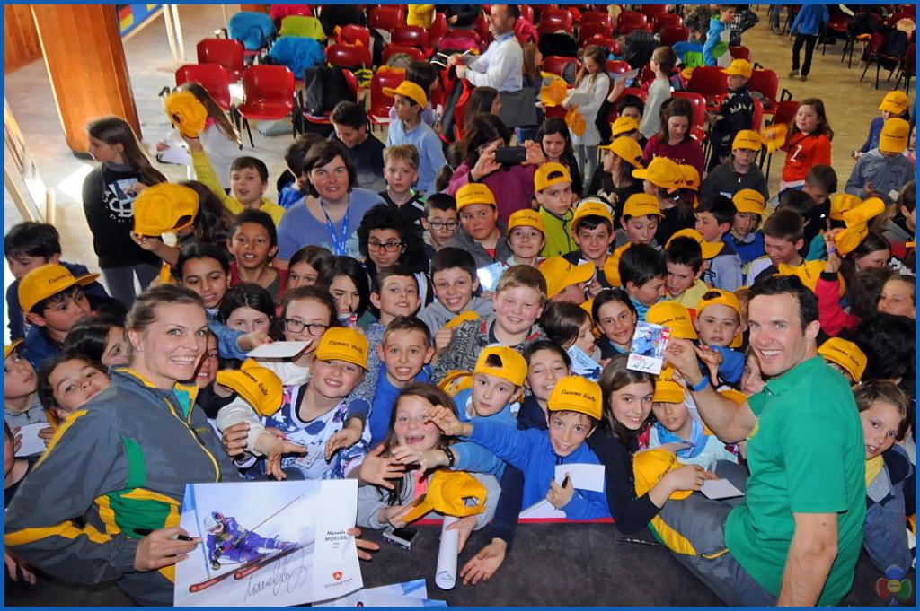 Trofeo Cinque Nazioni 2018 incontro con il campione fiemme 1024x681 Inaugurato il Trofeo Cinque Nazioni 2018 a Predazzo