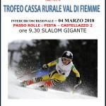 circuito cassa rurale dolomitica passo rolle 2018 150x150 Trofeo 5 Nazioni 2018 dal 26 al 30 marzo in Val di Fiemme