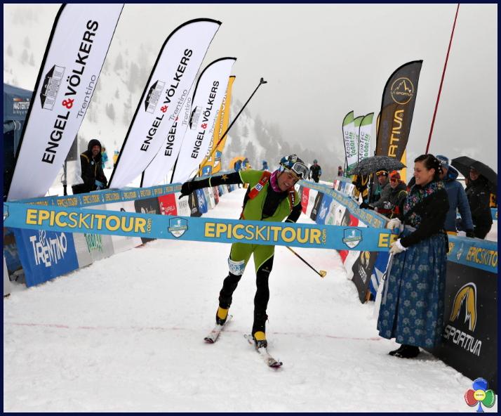 epic ski tour 2018 pordoi Boscacci e Kreuzer campioni dellEpic Ski Tour 2018