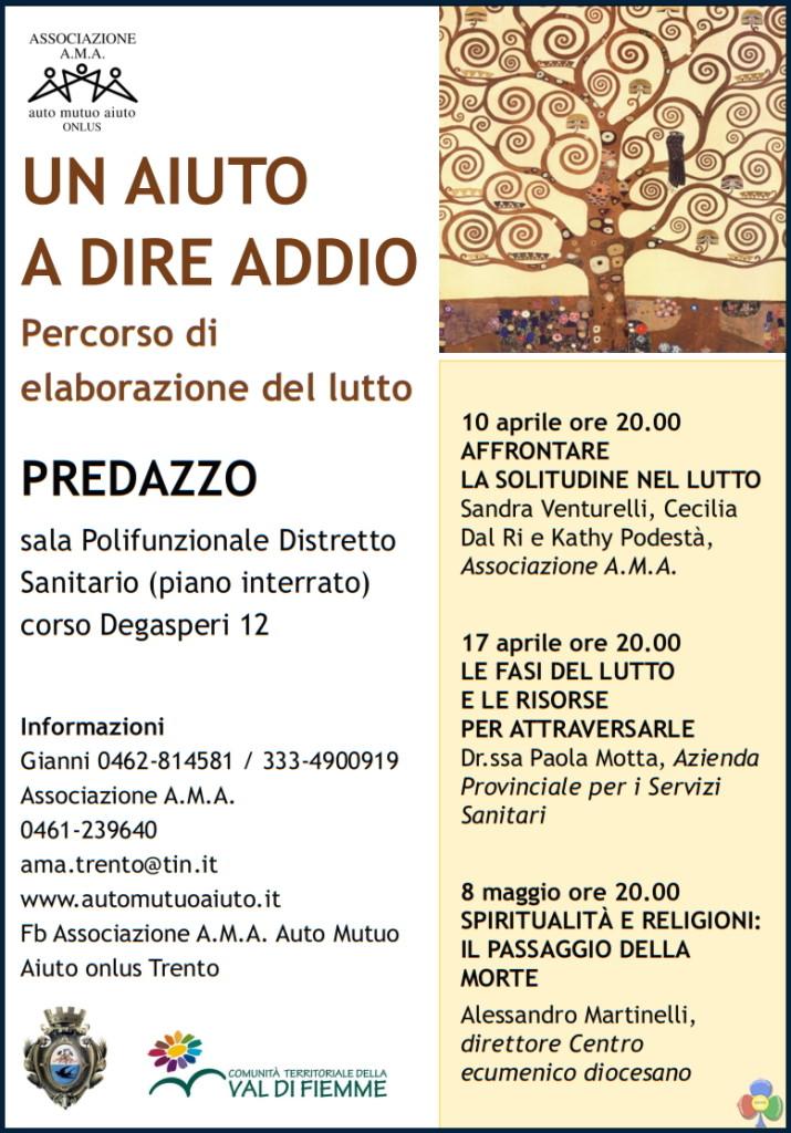 elaborazione del lutto predazzo 715x1024 A Predazzo il percorso di elaborazione del lutto
