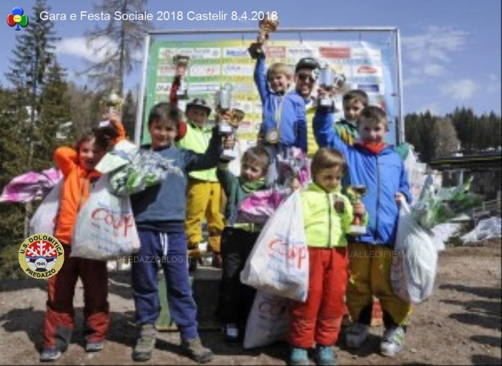 us dolomitica gara sociale 2018 castelir predazzo11 1024x747 Us Dolomitica chiude in bellezza con Gara Sociale e polentada