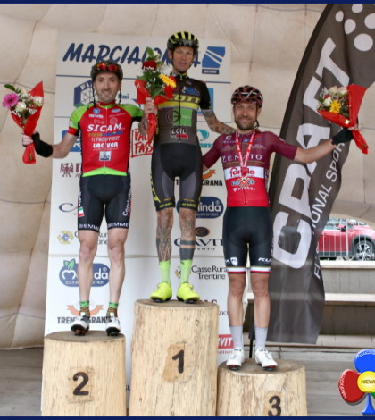 marcialonga cycling 2018 podio m