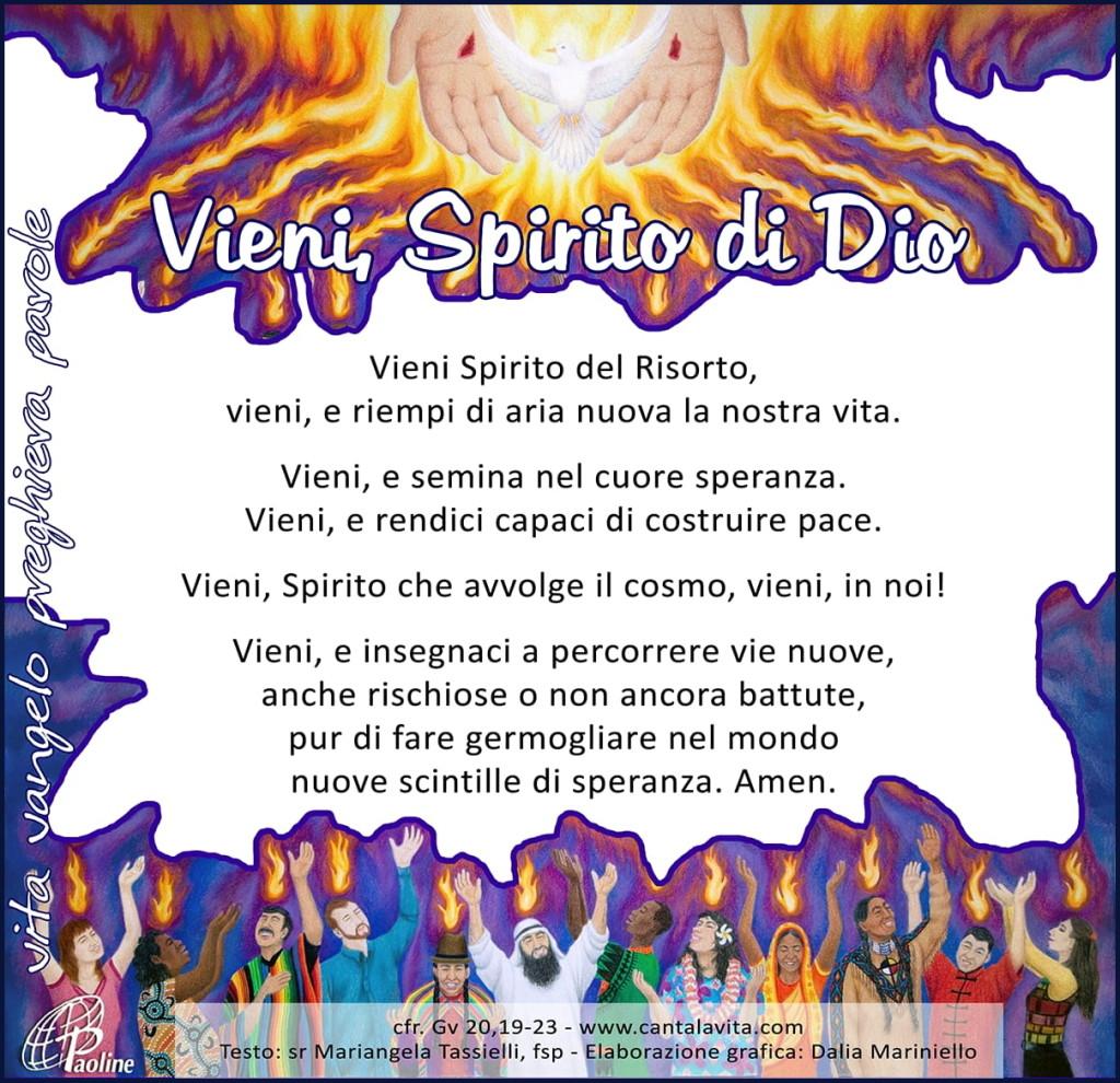 vieni santo spirito 1024x990 Avvisi Parrocchie, 20 27 maggio