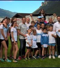 Champioms Camp Predazzo 2018 per la S.S. Lazio Atletica