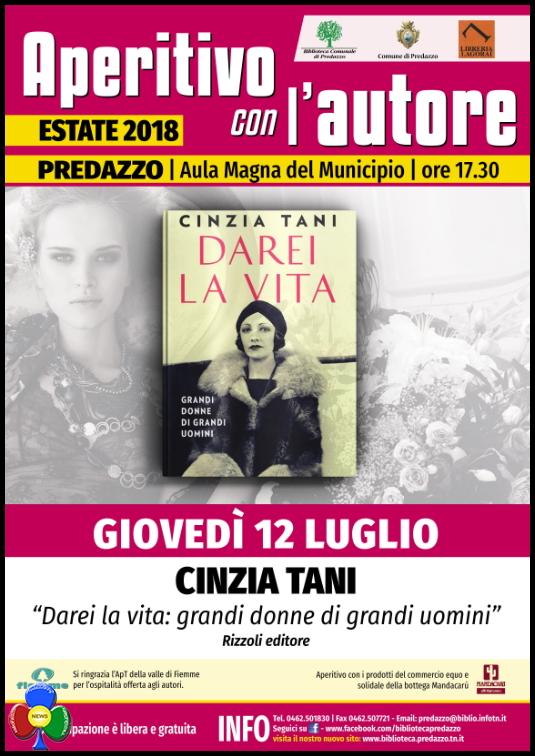 aperitivo Predazzo, LAperitivo Con LAutore, 2018