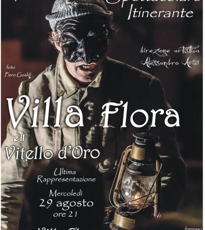 Locandina Villa Flora e il Vitello d_Oro 29 Agosto web