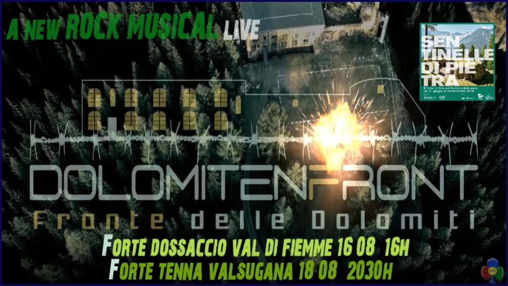 dolomitenfront live 2018 1024x576 Dolomitenfront in concerto live al Forte Dossaccio