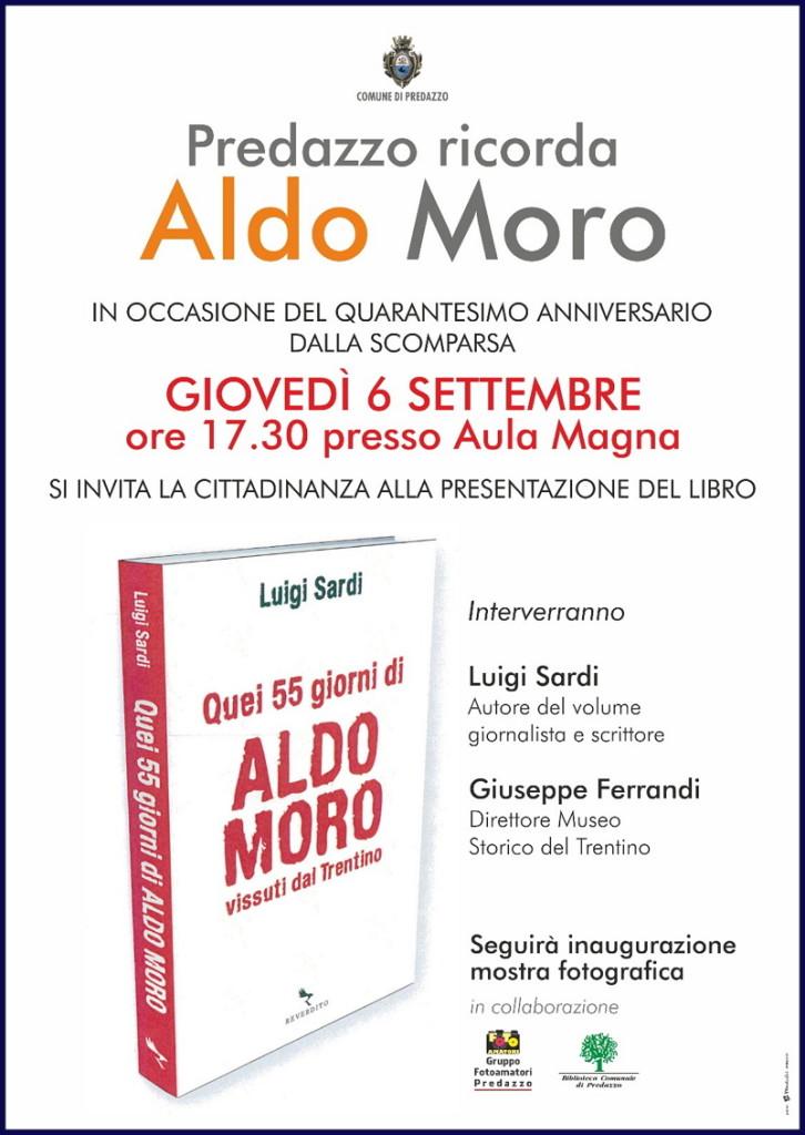 predazzo ricorda aldo moro libro 726x1024 Predazzo ricorda Aldo Moro: presentazione libro di Sardi e mostra