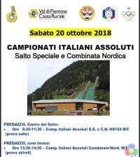 campionati italiani assoluti salto e combinata 2018
