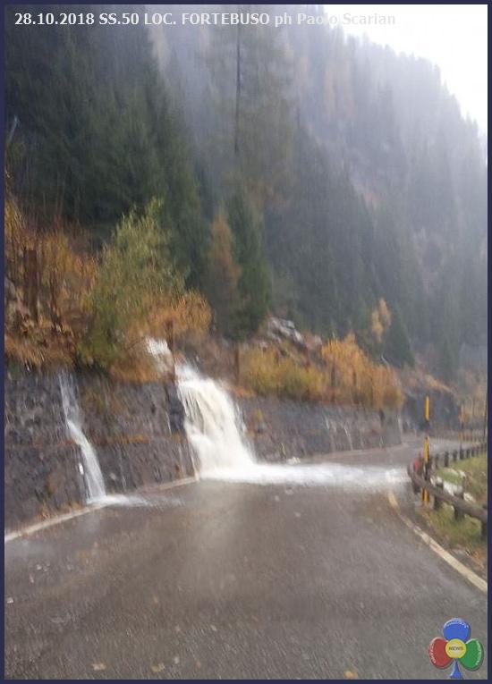 fortebuso Maltempo in Trentino: protezione civile allertata. Forti piogge domani