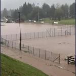 masi di cavalese campo sportivo allagato 150x150 Maltempo in Trentino, domani chiusura di tutte le scuole