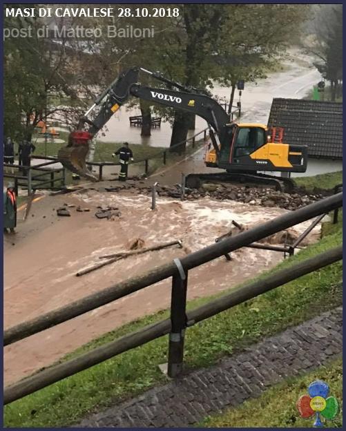 masi di cavalese piogge Maltempo in Trentino: protezione civile allertata. Forti piogge domani