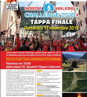 nordic walking challenge predazzo 2018