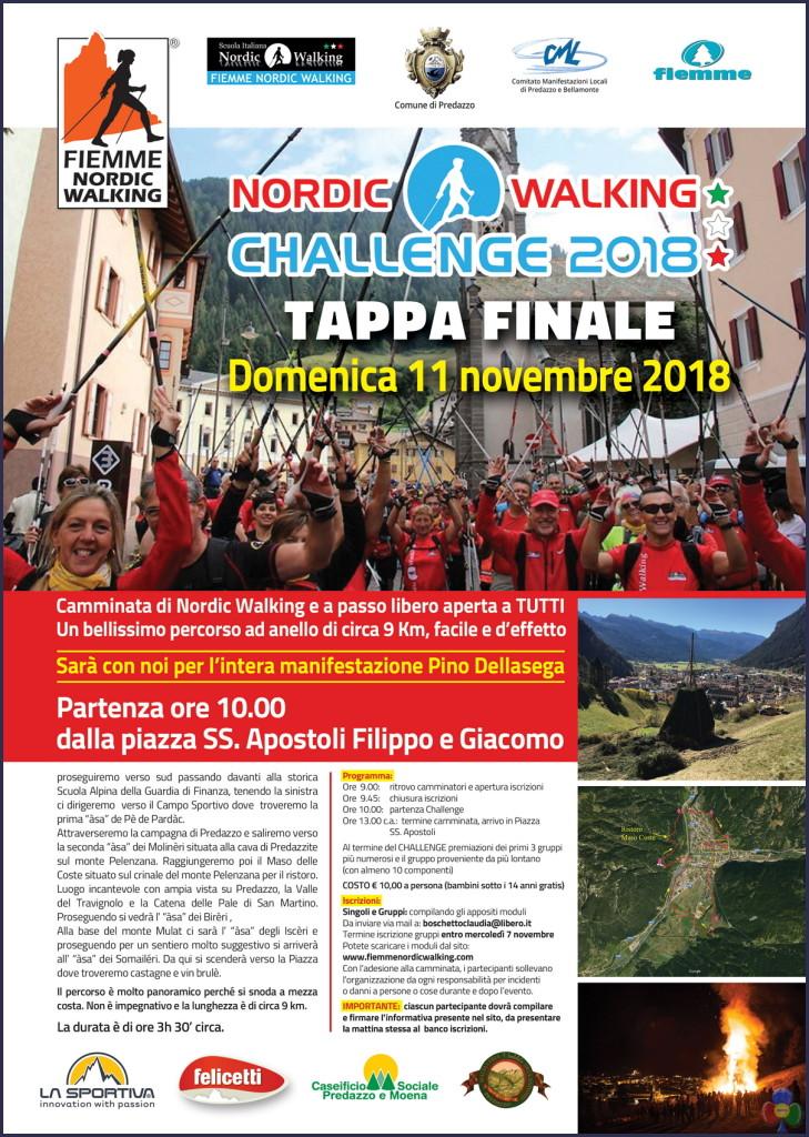 nordic walking challenge predazzo 2018 729x1024 11 novembre 2018 Walking Challenge tappa finale a Predazzo