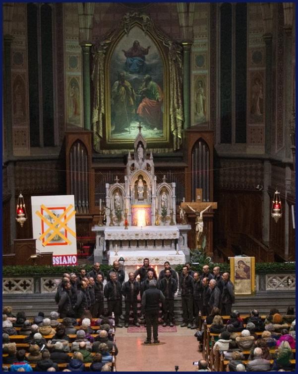 coro negritella predazzo 1 22 dicembre, Rassegna Canti di Natale con 3 cori