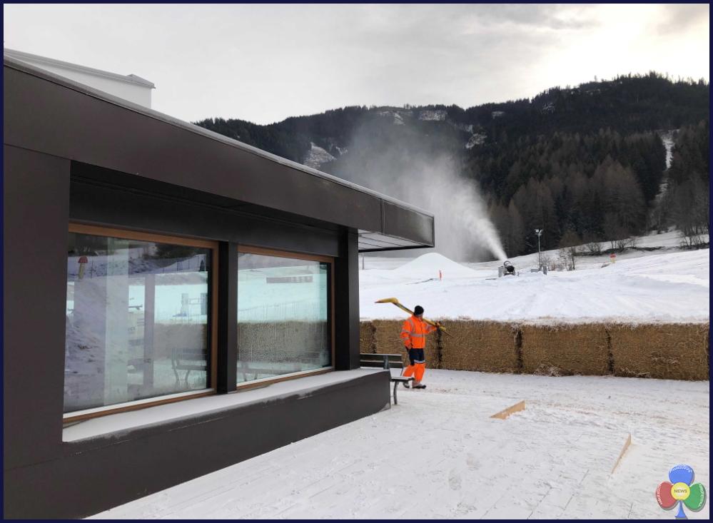 eco snowpark ziano di fiemme1 Ziano di Fiemme, apre l'eco snowpark