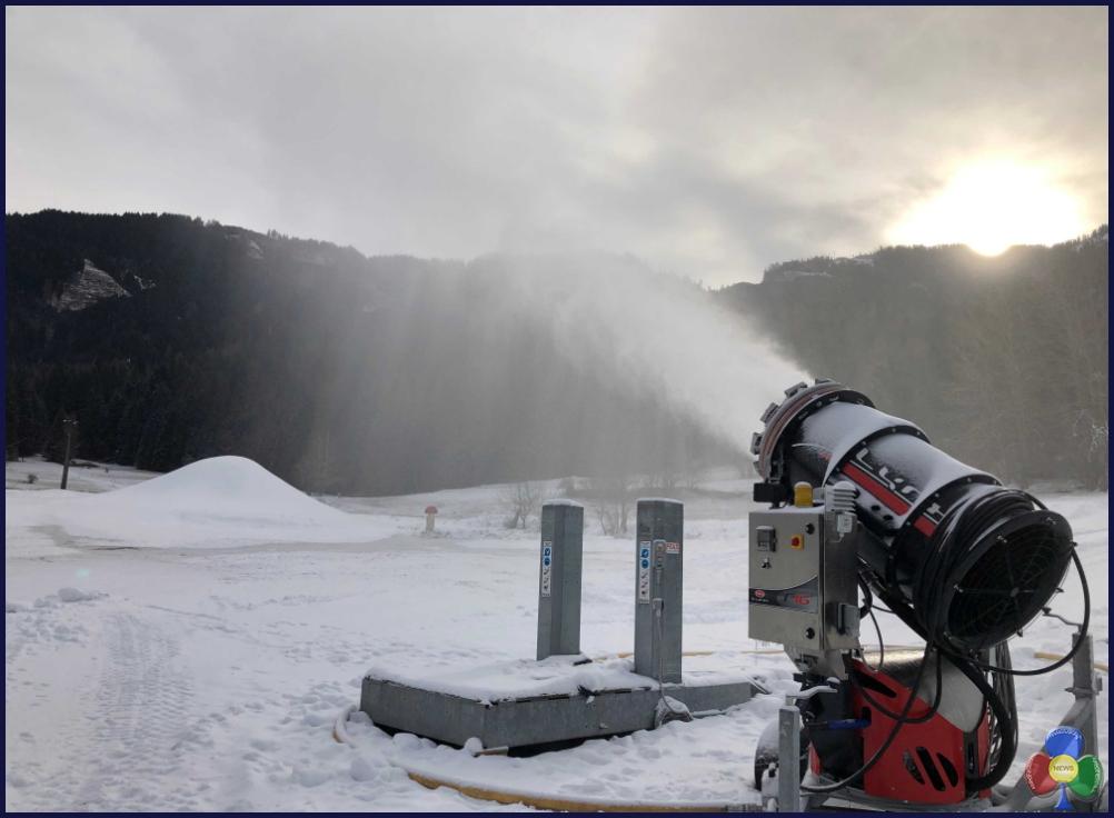 eco snowpark ziano di fiemme2 Ziano di Fiemme, apre l'eco snowpark