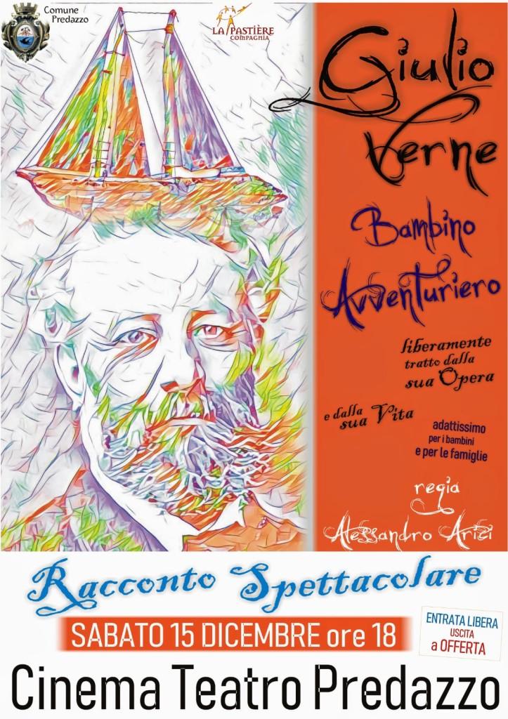 giulio verne 723x1024 Giulio Verne, bambino avventuriero racconto spettacolare a Predazzo