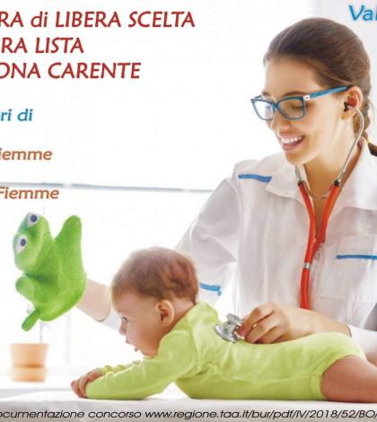 pediatra di libera scelta fiemme