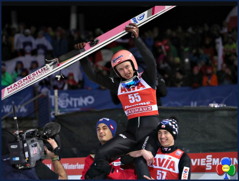 FIS Ski Jumping World Cup fiemme predazzo 2019 a KUBACKI Top Gun allo Stadio del Salto di Predazzo