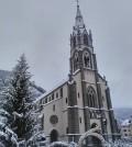 chiesa predazzo neve edda vanzo
