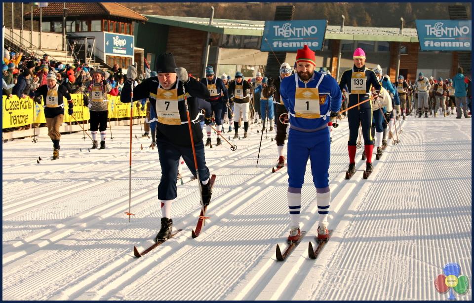 marcialonga story 2019 Marcialonga Story 2019   splendida sfilata vintage sugli sci
