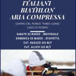 biathlon 2019 lago di tesero 150x150 BIATHLON Rag./Allievi Campionati Italiani, oro per il Trentino