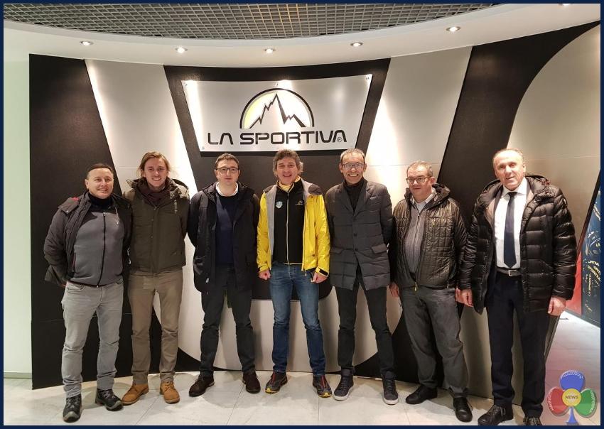 """fugatti a la sportiva La Giunta Provinciale in visita al Pastificio Felicetti e """"La Sportiva"""""""