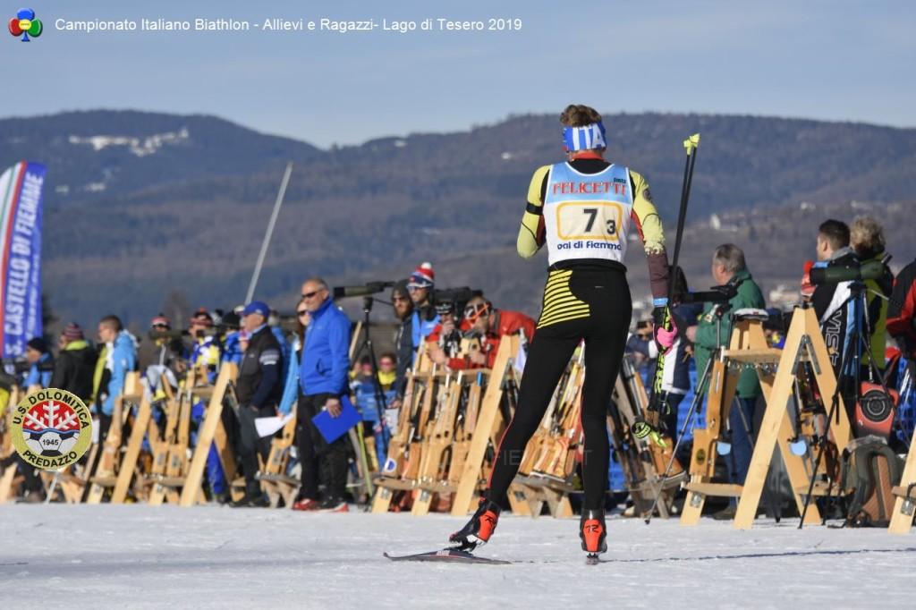 Campionato Italiano Biathlon Allievi e Ragazzi Lago di Tesero 20193 1024x682 BIATHLON Rag./Allievi Campionati Italiani, oro per il Trentino